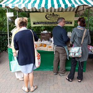 One of our market stalls